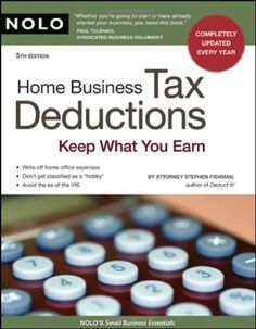 HOME BUSINESS TAX DEDUCTIONS: Keep What You Earn http://franchise.avenue.eu.com/