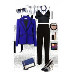 Untitled #1706 by zettirik on Polyvore featuring polyvore fashion style T By Alexander Wang Osman The Row Lanvin DKNY Kenneth Jay Lane Love Moschino MAC Cosmetics Becca Kevyn Aucoin clothing