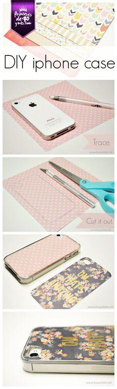 Me encantó esta idea, así podemos tener muchos. #DIY #Cel #Phone #PrincesasDe40
