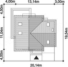 Rzut projektu Puk 3 Small Buildings, Floor Plans, House, Future House, Home, Haus, Houses, Homes