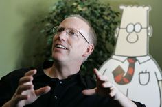 """Scott Adams, the ever-opinionated Dilbert creator, has graced us all with his latest opinion. Weighs in on Rape. This time, Adams is talking about the """"natural instincts"""" of men which, in case you didn't know, are apparently to rape, cheat, to be """"offensive"""", etc. saying that """"boys"""" are pretty much designed to be rapists and we'd better get used to it is…"""