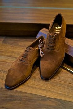 b0a1f83d96ece The Best Men s Shoes And Footwear   Brown Suede Sharp Toe