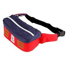 CUB TRAVELER Hip Bag Red Navy, #bags #outdoors #products #backpackerindonesia #explorebandung #vsco #vscocam #hipbags #exploreindonesia #apparel