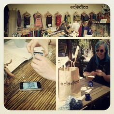 Buying #hippy #clothes and # chai with #bitcoin using #CoinJar.