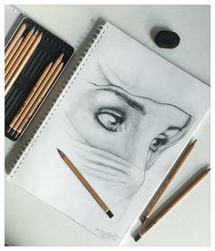 Arabian woman sketch