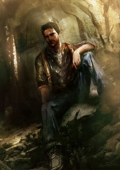 Uncharted Storyboard Picture, Nathan Drake