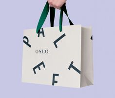 Visual Identity across shopping bag for Paleet designed by Neue.