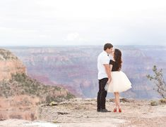 Grand Canyon Engagement Photoshoot - Inspired By This
