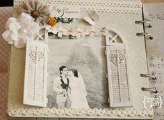 Wedding Scrapbook, Vintage Scrapbook, #vintage #wedding #scrapbook