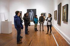 """Visita a """"Colección MAC: Obras Latinoamericanas"""" en MAC Parque Forestal. Mayo de 2016."""