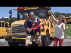 """The Holderness family is baaaaaaaack with this very *special* parody of """"Baby Got Back"""" (who did it better, the Holderness' or Nicki Minaj?), but this time it's """"Baby Got Class.""""   These Parents Are Way Too Excited About Their Kids Going Back To School"""