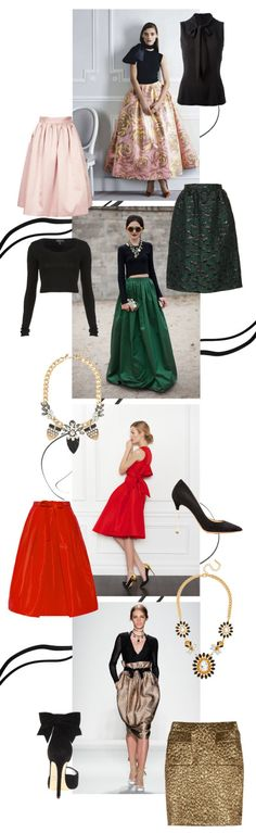 Holiday fashion: http://www.stylemepretty.com/living/2013/12/12/10-fun-holiday-frocks/