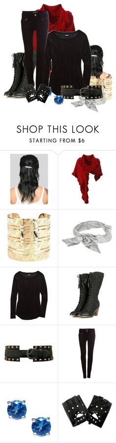 """Wiccan"" by swimstar000 ❤ liked on Polyvore featuring Charlotte Russe, Topshop, Aerie, Pull&Bear and Moise"