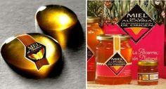 Miel de Galicia y miel de la Alcarria. Ambas con D.O.