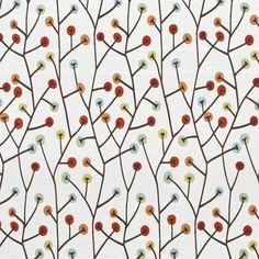 Richloom Twizzler Crayola Fabric.