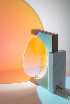 DESIGN: Lampade di Eléonore Delisse | Day and Night - Osso Magazine #lamps