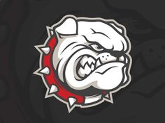 McPherson College Bulldog | Mascot Branding And Logos | Pinterest ...