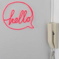 Make a Wire-Wrapped Word for Your Wall (via craft.tutsplus.com)