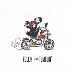 いいね!321件、コメント13件 ― Leviさん(@weargrits)のInstagramアカウント: 「Jukebox Jams: Rollin' and Tumblin' -Muddy Waters. Drawing inspired by the vintage iron on…」