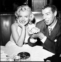 Marilyn and Joe Dimagio