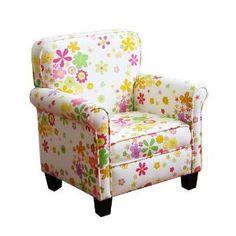 Kinfine Girls Pink mini dot Chair