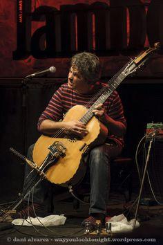 Paolo Angeli at Jamboree jazz club of Barcelona.