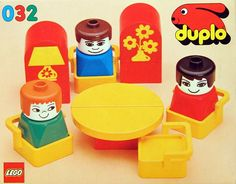 032: Living Room Furniture  DUPLO, 1979