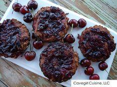Homemade Cherry Tarts #paleo #grainfree #cherries #cherrytart