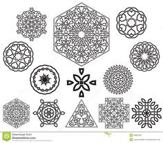 Exquisite Celtic Knot Designs : Set Of Celtic Knot Design Elements Stock Photos Image Celtic Knot Designs For Applique Celtic Knot Designs For Tattoos Islamic Motifs, Celtic Knot Designs, Celtic Patterns, Symbol Design, Celtic Symbols, Celtic Tattoos, Pattern Images, Vector Clipart, Zentangle Patterns