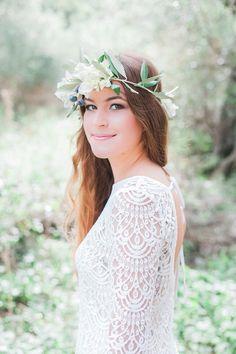 beautiful olive themed wedding shoot