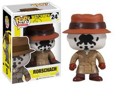 Funko POP Movies: Watchmen Rorschach Action Figure http://popvinyl.net #funko #funkopop #popvinyl #collectabletoys