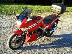 My Kawasaki GPZ 500s as of 09/2013