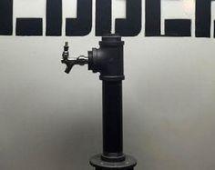 6 tap custom draft beer tower black iron. Wine Beer Kombucha