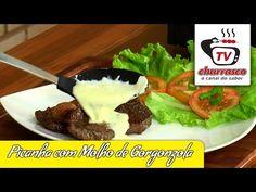 Picanha com Molho de Gorgonzola |TvChurrasco.com.br