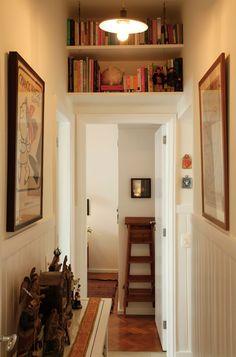 Biblioteca no corredor - Ouriço