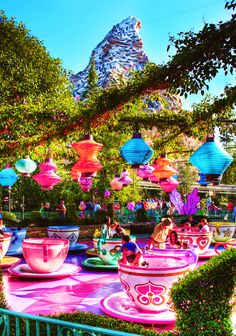 after everything, the boys take a walk in the park and go for a nostalgic ride on the tea cups