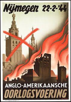 Nijmegen, 1944: een bombardement door de geallieerden kost 800 mensen het leven (Wikipedia)