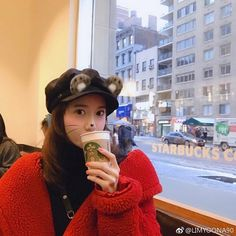 Image may contain: 1 person, drink and outdoor Sooyoung, Yoona Snsd, Jessica Jung, South Korean Girls, Korean Girl Groups, Yuri, Im Yoon Ah, Korean Actresses, Ulzzang Girl