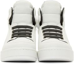 3.1 Phillip Lim: White PL31 High-Top Sneakers | SSENSE