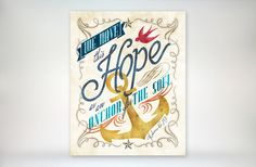 art print  Hope as an Anchor for the soul