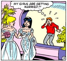 Betty, Veronica and Archie