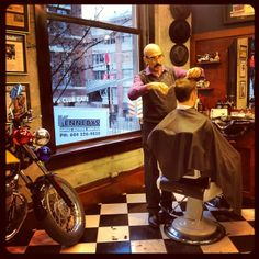 Good morning from the barber shop on this snowy Monday, December 9, 2013! #barber #barbershop #haircut #mensgrooming #barbering #haircuts #yaletownbarber #barberlife #yaletown #vancouver #barbershops #barbers Read more at http://web.stagram.com/n/barberboss/#UOCwHsdQZQLkDPHJ.99 Shelley Salehi -@Farzad Bagheri Bagheri's Barber Shop Instagram photos | Webstagram