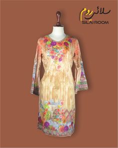 Shirt with Digital Print Full sleeves (Bell Shape) Fabric: Lawn Full Sleeves, Lawn, Digital Prints, Shape, Blouse, Fabric, Summer, Shirts, Collection