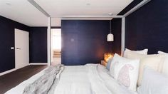 In Pictures: Daz + Dea's 'finessed' master bedroom   The Block Triple Threat   9Jumpin