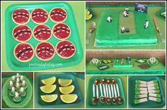 Easy Cricket Party Food Cricket Birthday Cake, Cricket Theme Cake, Sports Theme Birthday, Boy Birthday Parties, 8th Birthday, Birthday Cakes, Birthday Ideas, Diy Party Themes, Birthday Party Decorations