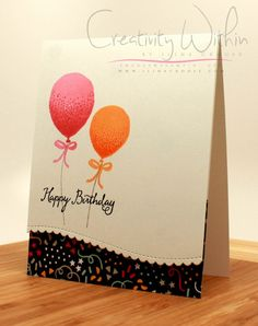 Happy birthday by ilinacrouse - Cards and Paper Crafts at Splitcoaststampers