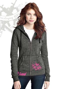 'Gunslinging Girl' Hoodie Jacket, $27.99