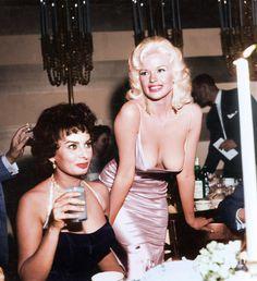 Sophia Loren et Jayne Mansfield