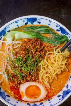 Soup Recipes, Dinner Recipes, Cooking Recipes, Easy Ramen Recipes, Ramen Noodle Recipes, Tantanmen Ramen Recipe, Asian Recipes, Healthy Recipes, Longest Recipe