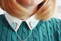 collar clip from Ladybird Likes by Sandra Beijer, via Flickr